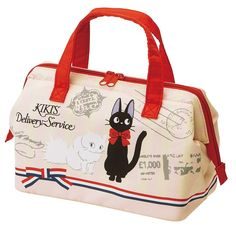 Studio Ghibli Kiki's Delivery Service Gamaguchi Lunch Bag (Airmail Series): Amazon.ca: Kitchen & Dining