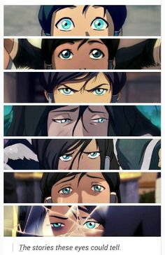 The Stories These Eyes Could Tell | Korra | Character Development | Book 4: Balance | Legend of Korra | Avatar