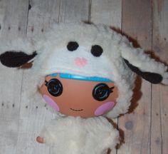 Lalaloopsy Littles 7 doll clothes  Fuzzy Little Lamb by TKCT, $12.00