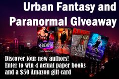 Paranormal/UF giveaway