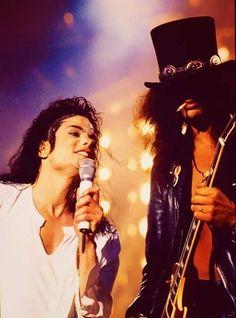 Michael Jackson & Slash