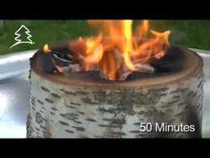 EcoForest - Light n' Go™ Bonfire Log
