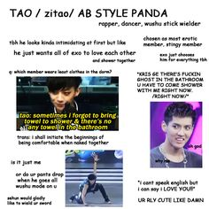 """A beginners guide to EXO: Tao"" That English Translation tho Lolol"