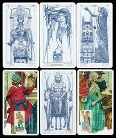Das Tarot des III. Jahrtausends Künstler Tarot 78 Tarotkarten Iassen Ghiuselev
