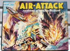 Image for Air-Attack Vintage Games, Vintage Love, Game Art, Board Games, Comic Books, Comics, Image, Tabletop Games, Cartoons