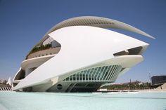 Palacio de las Artes Reina Sofía, es el teatro de la ópera de Valencia (España), y sede de Santiago Calatrava