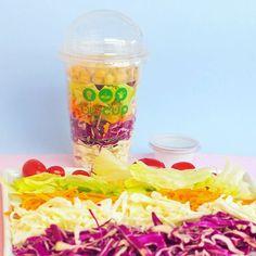 Salad Shake ! #salad #salada #cores #saude #healthy #saudavel #fit #gym #saladcup #biocup #comidasaudavel #graodebico #vegetariano  #delivery #guarulhos  Encomendas Whatsapp : (11) 94215-3475