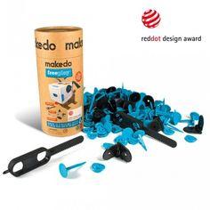 MAKEDO kreatívna hračka (sada pre troch) - Darujte najlepšiu hračku na svete Red Dots, Design Awards, White Out Tape, Office Supplies