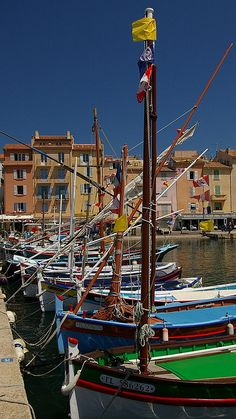 ST-TROPEZ, Provence-Alps-Cote d'Azur, France - This is not a place to get away from all it, but great for people-watching.  It has nice beaches, but watch out, some are nude.