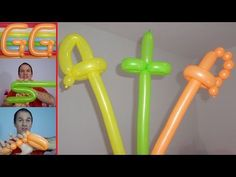 balloon sword - How to make a Balloon Sword Balloon Sword, Balloon Hat, Balloon Crafts, One Balloon, Balloon Shapes, Balloon Arch, Easy Balloon Animals, Ballon Animals, Donut Decorations