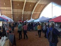 The scent of fresh produce, the vibrant color that pours out from the work of local artisans, unique live music, fresh baked goods, pony rides, food trailers and more. Each Sunday from 10 AM-2 PM, the Mueller Farmers' Market awaits you in the historic Browning Hangar off Airport Blvd, Austin