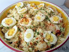 """Momma's Potato Salad""... just made this for our BBQ dinner & it was soooo good!! I didn't have chives & I forgot to add the lemon juice, but it was still super good!!"