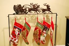 Best christmas stocking holder stand images