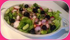 No gluten! Yes vegan!: Insalata di ceci fave e olive nere