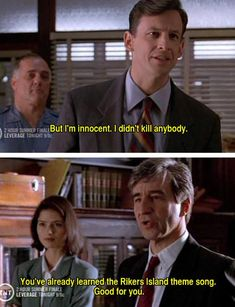 I miss Law & Order! Jack McCoy had thee best lines! Pleated-Jeans.com