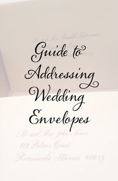 This website shows exactly how to write out names and adresses for ct designs calligraphy and wedding stationery guide for addressing wedding envelopes stopboris Images