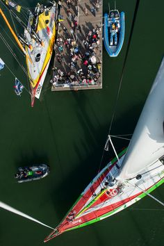 #Vendee Globe - a solo around the world yacht race -  Starts and ends in Les Sables-d'Olonne, France