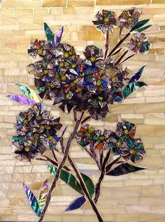Hydrangeas ~ Laura Rendlen Fine Mosaics