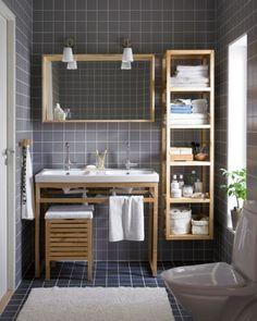 Creative Practical Bathroom Storage Design Ideas – Home Interior and Design Small Bathroom Storage, Bathroom Shelves, Bathroom Organization, Small Bathrooms, Organization Ideas, Bathroom Cabinets, Kitchen Storage, Organized Bathroom, Smart Kitchen