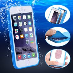 i6 6S Plus Waterproof Case For iPhone 6 7 6S Plus Underwater Swimming Diving Phone Cases