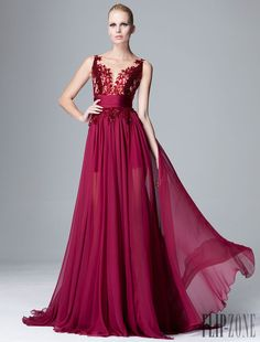Zuhair Murad - Prêt-à-porter - Pre-Outono 2014 - http://pt.flip-zone.com/fashion/ready-to-wear/fashion-houses-42/zuhair-murad-4498