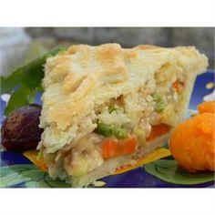 Grandma Carlson's Turkey Pot Pie - Allrecipes.com