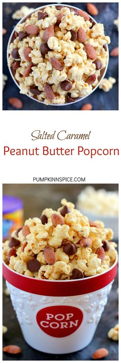 caramel peanut butter popcorn jam packed with peanut butter popcorn ...