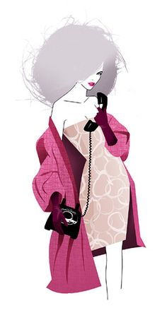 GLAMOUR MAGAZINE GERMANY - TIME FOR BREAKUP by LUIS TINOCO - ILLUSTRATOR, via Flickr