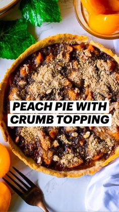 Bake Sale Treats, Delicious Desserts, Dessert Recipes, Peach Pie Filling, Good Pie, Good Food, Yummy Food, Fruit Pie, Cooking Recipes