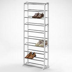 Room Essentials Storage Cube: Room Essentials 3-Shelf Stackable Shoe