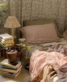 Room Ideas Bedroom, Bedroom Inspo, Bedroom Decor, Cozy Bedroom, Decoration Inspiration, Room Inspiration, Decor Ideas, Dream Rooms, Dream Bedroom