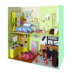 Wooden Dollhouse Miniature Scene Diy Furniture Kits - Buy Diy Miniature Furniture Product on Alibaba.com