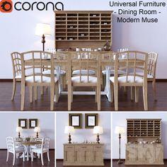 Universal Furniture - Dining Room - Modern Muse