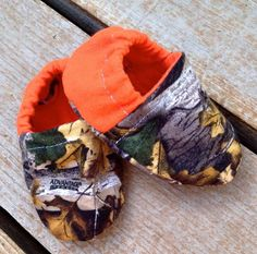 Camo Hunting Baby Shoes Booties by WithinThePines on Etsy