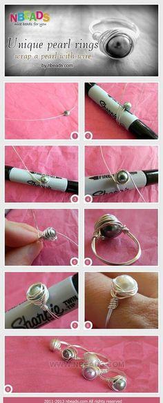 Imagem de diy, jewelry, and ring