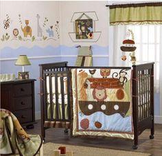 Noah's Ark Nursery - perfect for baby boy @Tracey Fox horn