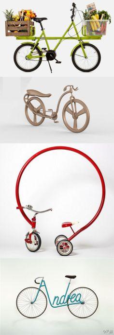 Fun bicycle designs
