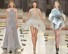 Your Cheat Sheet to Fall 2016 Couture Fashion Week - Iris van Herpen Fuses Tech and Fashion from InStyle.com