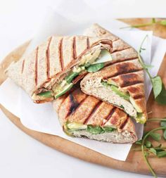 Roasted Chicken Wraps with Green Apples and Brie