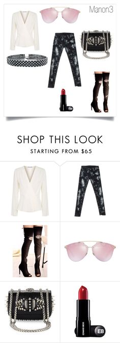 """""""Manon 3"""" by crystelpi on Polyvore featuring mode, Elizabeth and James, Ralph Lauren, Christian Dior, Christian Louboutin et Bling Jewelry"""