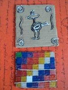 Con 7º TM y 7º TT         trabajamos línea, con hilos      sobre cartones      sobre los pueblos originarios                             ... Collage, Culture, School, Blog, Kid Art, Art Activities, School Projects, Primary School, Schools