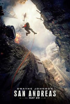 San Andreas movie --May 29-2015-In the aftermath of a massive earthquake in California, a rescue-chopper pilot makes a dangerous journey across the state in order to rescue his estranged daughter
