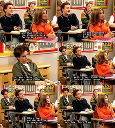 Boy Meets World - Cory Matthews & Shawn Hunter & Topanga Lawrence Boy Meets World Quotes, Girl Meets World, Boy Meets World Shawn, Cory And Topanga, Disney Memes, Funny Disney, The Lone Ranger, Boy Meets Girl, Old Disney