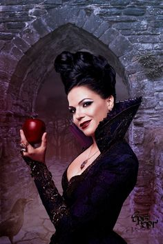 once+upon+a+time+costumes/+evil+queen | The Evil Queen from Once upon a time by SPRSPRsDigitalArt