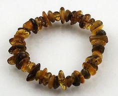 Genuine-Baltic-Amber-Nuggets-Bracelet-Chakra-Healing-Reiki-Smoky
