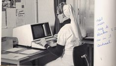 Tijdsbeeld 1986 - Het Elisabeth Ziekenhuis van Alkmaar Zuster Cecilia.