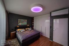 Svetelný strop CIR S prisadený v bielom prevedení. Bratislava, Led, Furniture, Home Decor, Decoration Home, Room Decor, Home Furnishings, Home Interior Design, Home Decoration