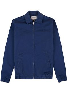 Buy Carhartt WIP Madison Jacket in Navy. Free UK Delivery available on all purchases at Dapper Street. Harrington Jacket, Carhartt Wip, Dapper, Athletic, Navy, Zip, Street, Check, Jackets