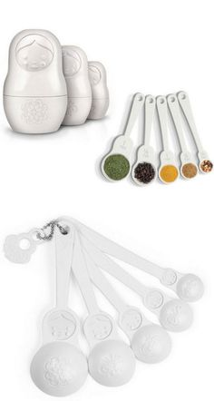 Nesting Dolls Measuring Cups and Spoons Set
