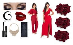 """Night out , red wine"" by ladymariah ❤ liked on Polyvore featuring GCGme, NARS Cosmetics, Bebe, Charlotte Tilbury, Fall and gcgme"